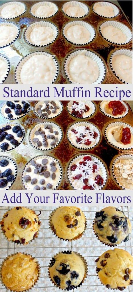 standard muffin recipe the wholesome dish