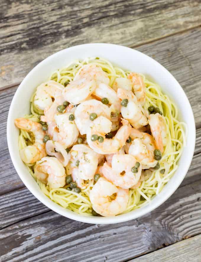 Shrimp Piccata The Wholesome Dish