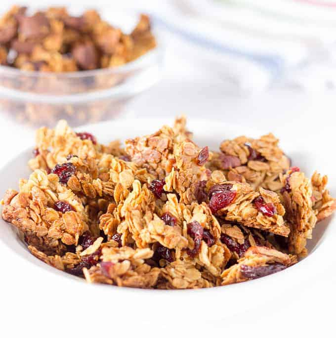 Basic Large Chunk Granola Recipe - Add Your Favorite Flavors