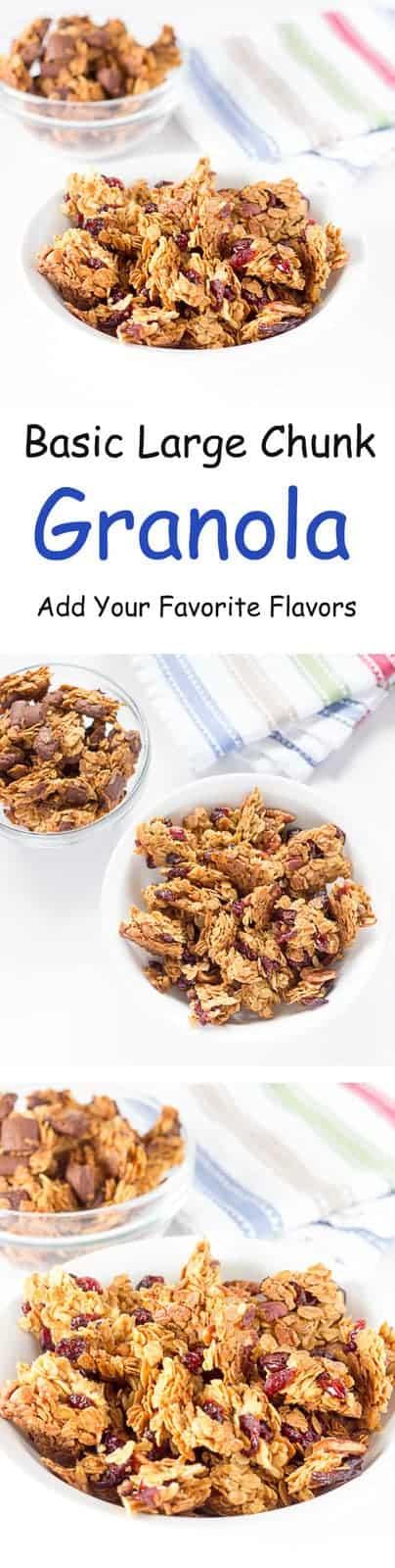 Basic large chunk granola recipe the wholesome dish solutioingenieria Choice Image