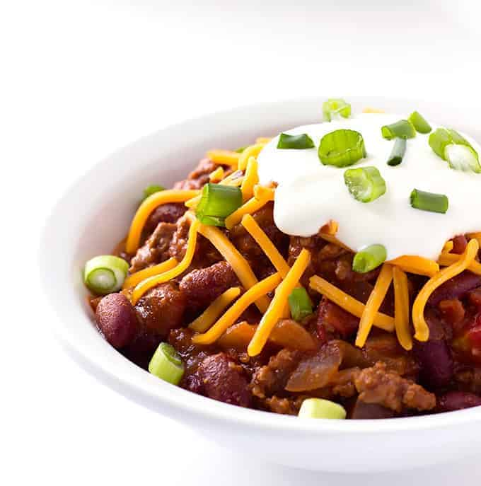 Maple Bourbon Chili