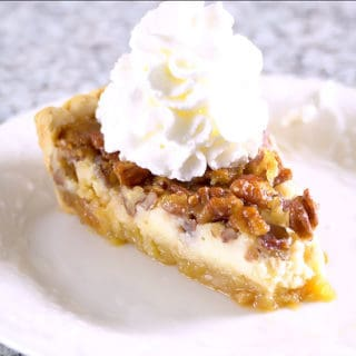 Cheesecake Stuffed Pecan Pie