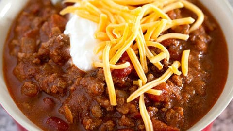 The Best Classic Chili The Wholesome Dish