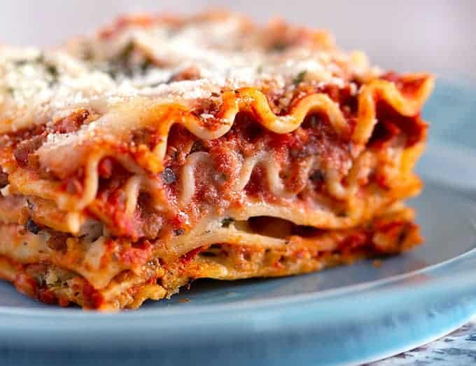 The Best Classic Lasagna The Wholesome Dish