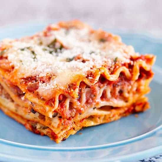 The Best Classic Lasagna