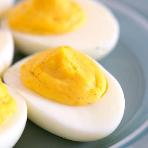 The Best Classic Deviled Eggs The Wholesome Dish